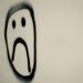 Sad drawn face