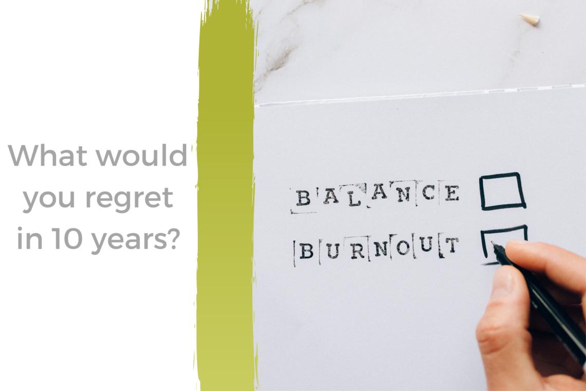 Burnout or balance?